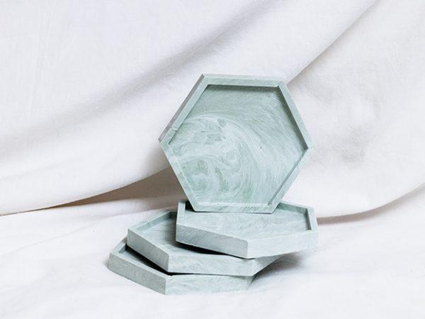 תחתיות לכוסות בצורות מיוחדות